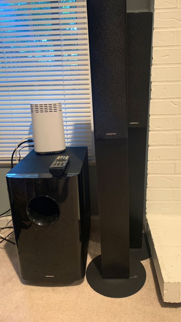 Onkyo 7.1 surround sound system with out receiver