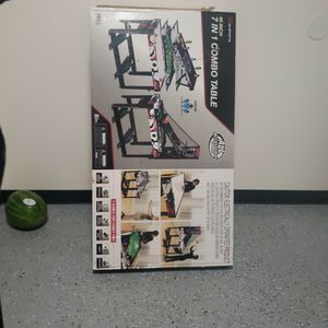 7in1 Combo Table. Golf, Darts, Pinball Soccer, Target Shooter,basketball, Air Hockey, Bean Bag Toss for Sale in Myrtle Beach, SC