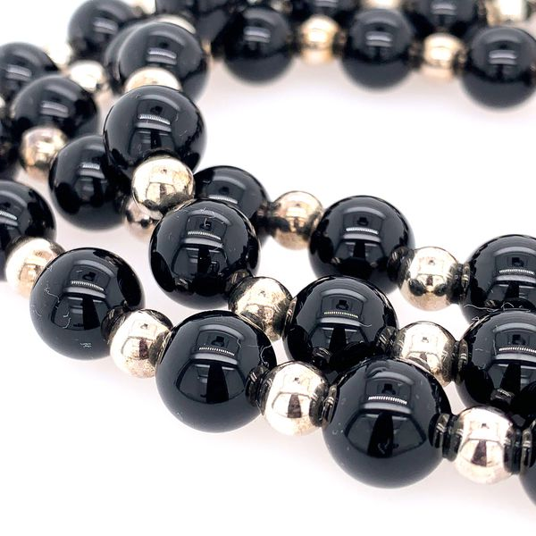 Tiffany and Co. Onyx necklace