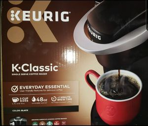 Keurig Coffee Maker KClassic ($120 brand new) for Sale in Columbus, OH