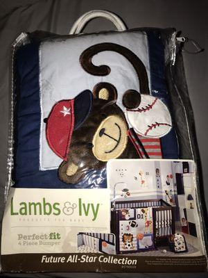 Baby crib bumper for Sale in Lebanon, PA