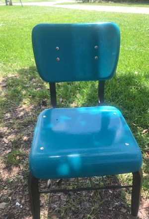 Student chair metal for Sale in Alexandria, LA