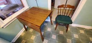Drop Leaf Table and 2 Chairs for Sale in Vernon Hills, IL