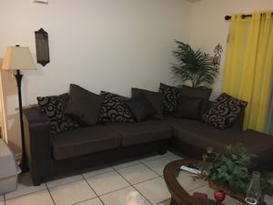 Sofa with pillows for Sale in Fort Myers, FL