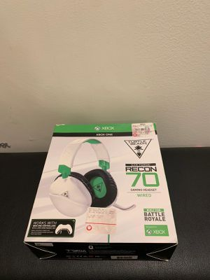 Turtle Beach Recon 70 gaming headset, modded to be better than $200 headsets for Sale in Boston, MA