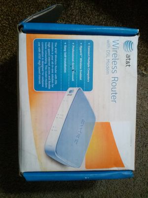 AT&T Wireless Router DSL Modem for Sale in Sacramento, CA