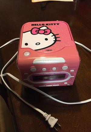 Hello Kitty CD player, radio and Alarm Clock for Sale in La Porte, TX