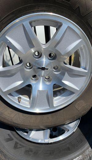 """4 rims Silverado Chevy 17"""" for Sale in Spring Valley, CA"""