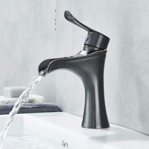 Oil Rubbed Bronze... Modern Waterfall Bathroom Vanity Faucet for Sale in Coral Springs, FL