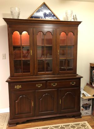 China Hutch 2 piece Colony House Solid Cherry for Sale in Martinsburg, WV