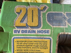 RV Drain Hose 20' for Sale in Indian Trail, NC