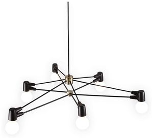 6-Light Midcentury Chandelier Light for Sale in Lutherville-Timonium, MD