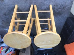 Wooden stools for Sale in Kissimmee, FL