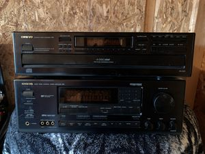 Receiver and six CD player for Sale in IL, US