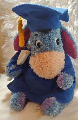 Disney Store Plush Winnie the Pooh Graduation Eeyore Donkey for Sale in Murray, UT