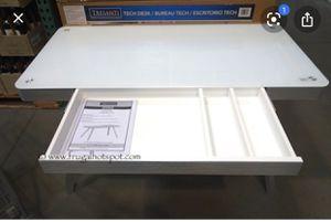 Modern glass sleek desk for Sale in Austin, TX