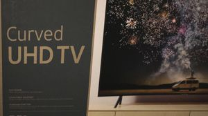 Samsung curved ultra HD tv for Sale in Midland, TX