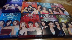 Charmed SEASONS 1 THROUGH EIGHT DVD SETS for Sale in Clinton Township, MI