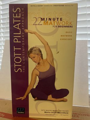 Stott Pilates The Contemporary Approach VHS 📼 Vintage for Sale in Albuquerque, NM