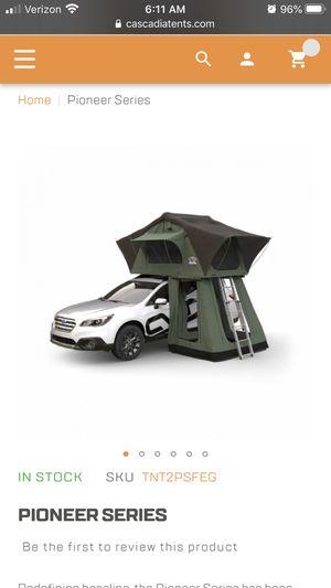Cascadia Vehicle Tent: Pioneer Series: SHASTA for Sale in Laguna Beach, CA