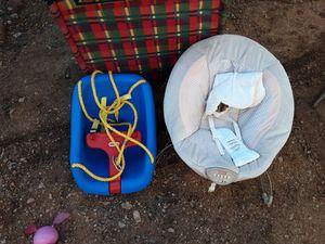 Kids swing and bouncer for Sale in Abilene, TX