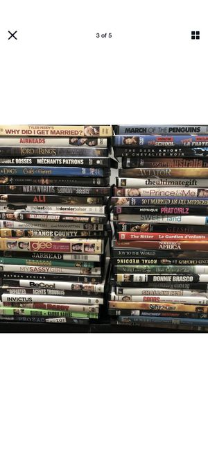 DVDs and/or Blu Ray Discs Lot 25 bundle for Sale in Vancouver, WA