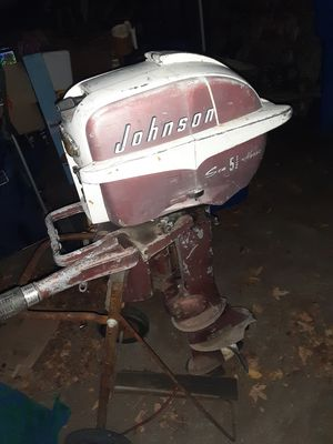 Vintage Johnson outboard for Sale in Los Osos, CA