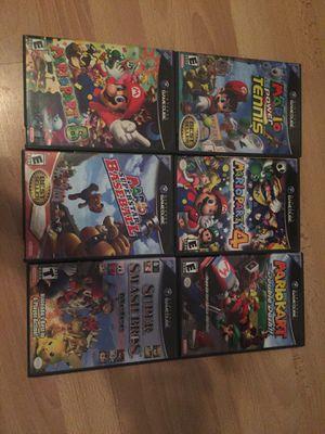 GameCube Mario games for Sale in San Antonio, TX