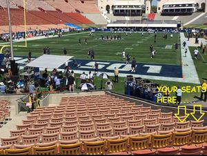 2 - LA Rams Tickets - Lower Level - Seats are next to the Players Tunnel for Sale in Los Angeles, CA