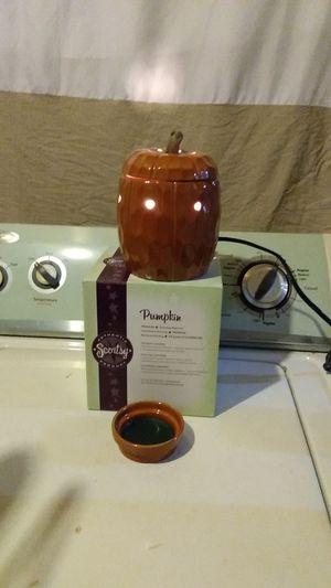 Scentsy Pumpkin Warmer for Sale in Dallas, TX