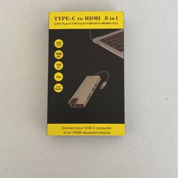 Type-C to HDMI 8 in 1 for Sale in Ocala,  FL