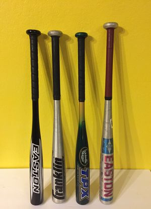 Easton and Other Baseball/Softball Bats for Sale in Austin, TX
