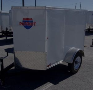 7by10 inclosed trailer only used a few times paid $2100 for Sale in Gilroy, CA