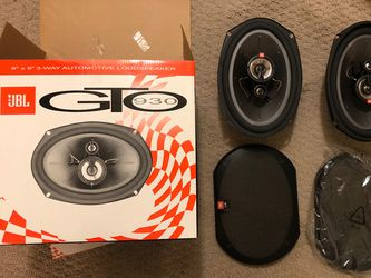 "JBL 6"" X 9"" 3-way Car Automotive Loudspeaker Subwoofer for Sale in Fairfax,  VA"