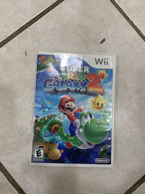 super mario galaxy 2 wii for Sale in Miami, FL