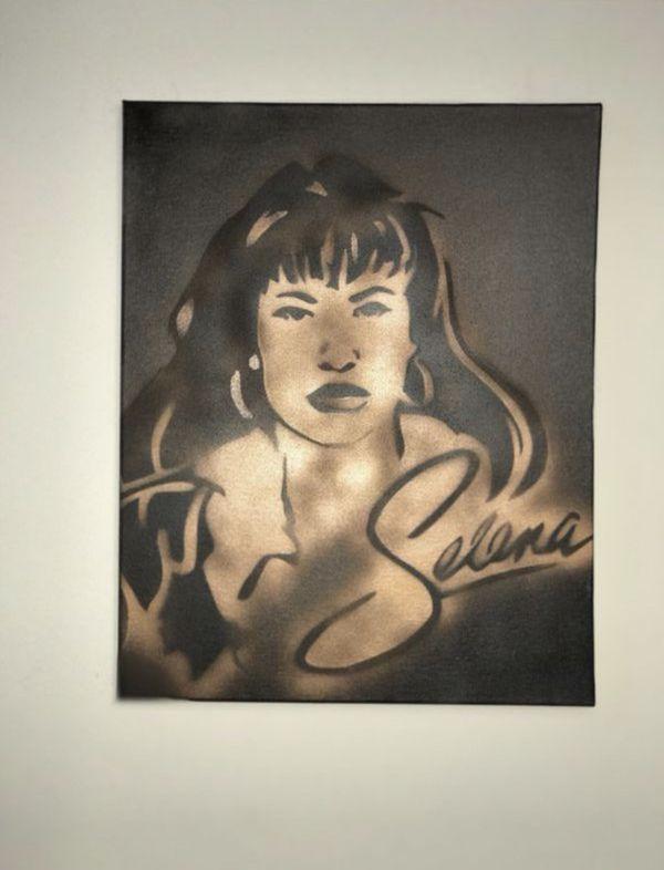 Selena 16x20 Graffiti Canvas