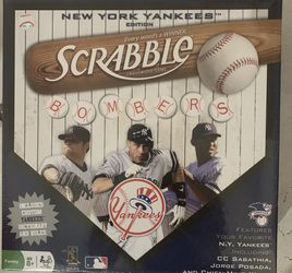 NY Yankees Edition Scrabble for Sale in Boca Raton,  FL