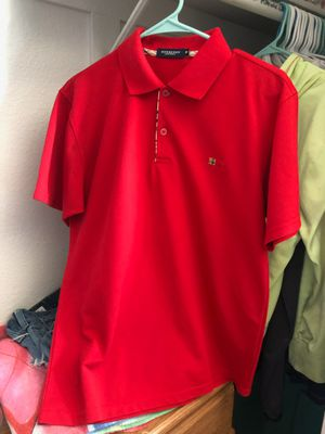 Authentic Burberry Men's Polo for Sale in Phillips Ranch, CA