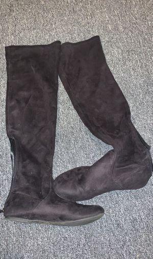 Black long boots for Sale in Nashville, TN