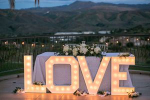Marquee Lights & Letters - Weddings, Birthdays, Baby Showers, etc for Sale in Jurupa Valley, CA