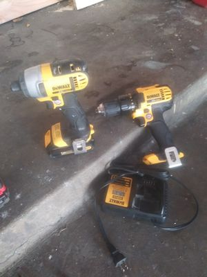 Dewalt set drill and inpact for Sale in West Hollywood, CA