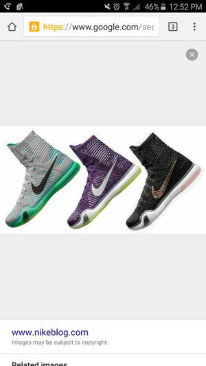 Looking for Kobe 10 Hightop Size 11.5 - 12 for Sale in Portland, OR