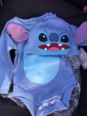Size 12-18 months Disney stitch baby outfit for Sale in Huntington Park, CA