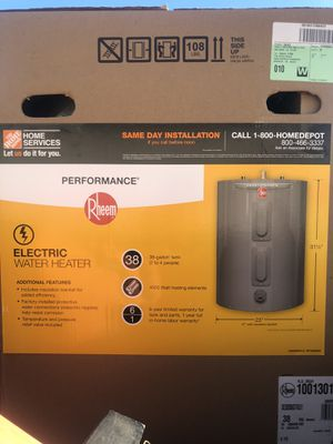 BRAND NEW 38 gal. electric hot water heater for Sale in Waianae, HI