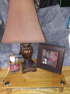 Lamp , picture , santa for Sale in Warsaw, NC