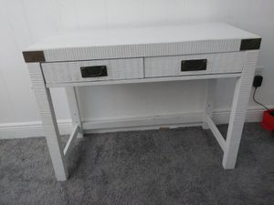 Beautiful White Wood Desk with 2 drawers from Lea The Bedroom People Can deliver! for Sale in Oakland Park, FL