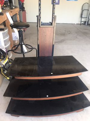 Tv stand with bracket. for Sale in Santa Maria, CA