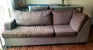 2 piece sectional for Sale in Charlotte, NC
