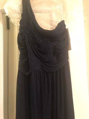 Size 12 bridesmaids dress navy for Sale in Corona, CA