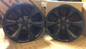 "Pair of 19 - 20 Ram 1500 Black Onyx Wheels / Rims 20"" for Sale in Clinton, CT"